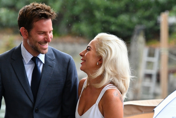 Bradley Cooper and Lady Gaga at the 75th Venice Film Festival