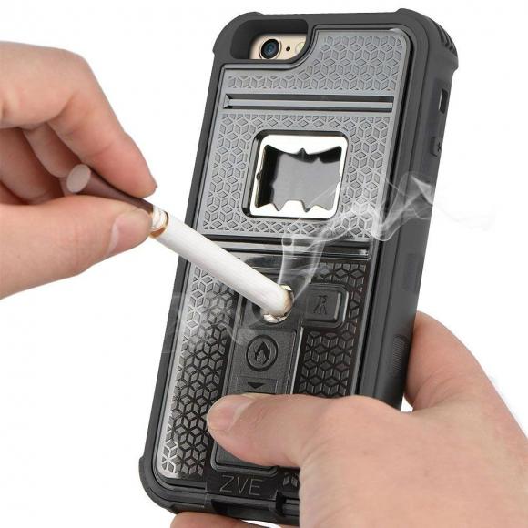 d0d09ab7cb4 La carcasa ZVE Multifunción sirve para prender cigarrillos. Foto: Difusión.