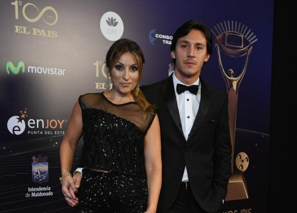 Marcela Tauro y su novio Martín Bisio. Foto: Darwin Borrelli