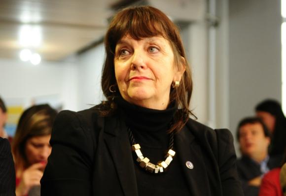 La secretaria general de los exportadores Teresa Aishemberg pide medidas. Foto: M. Bonjour