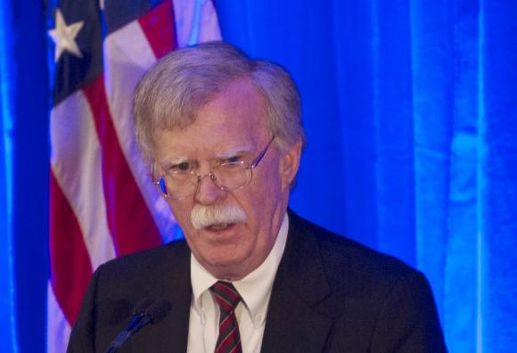 John Bolton: asesor en Seguridad Nacional del gobierno de Trump. Foto: AFP