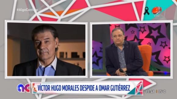 Víctor Hugo Morales en diálogo con Algo Contigo. Foto: captura