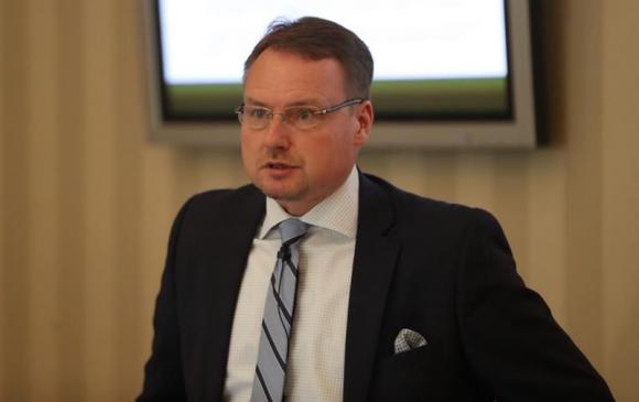 El vicepresidente sénior del Proyecto de Desarrollo en Uruguay, Petri Hakanen. Foto: EFE