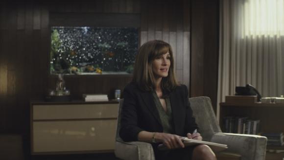 """Julia Roberts en el adelanto de su primera serie de televisión, """"Homecoming"""". Foto: Difusión"""