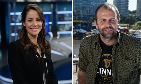Malena Castaldi y Mariano López