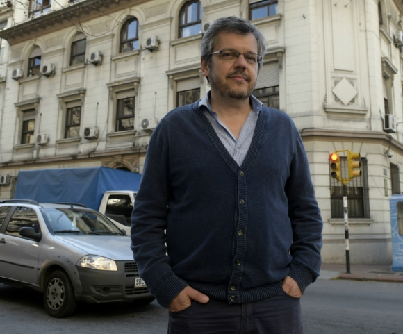 Gustavo Leal, sociologo uruguayo asesor del Ministerio del Interior. Foto: Marcelo Bonjour