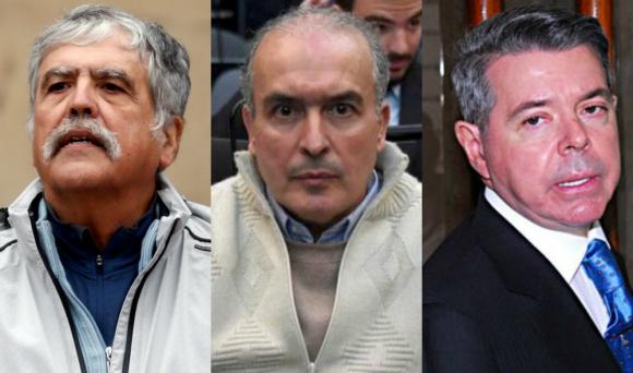 Julio de Vido, José López y Norberto Oyarbide.
