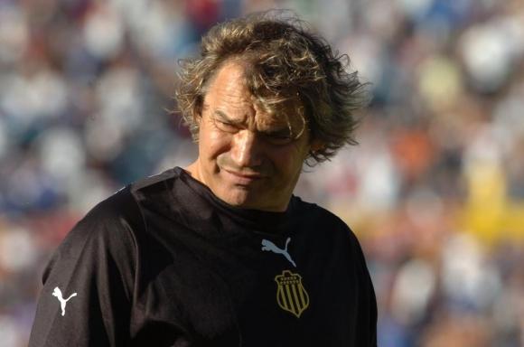 Mario Saralegui en Peñarol. Foto: Archivo El País