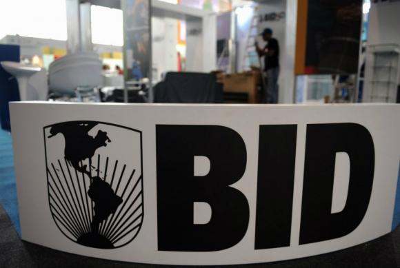 Banco Interamericano de Desarrollo. Foto: AFP.