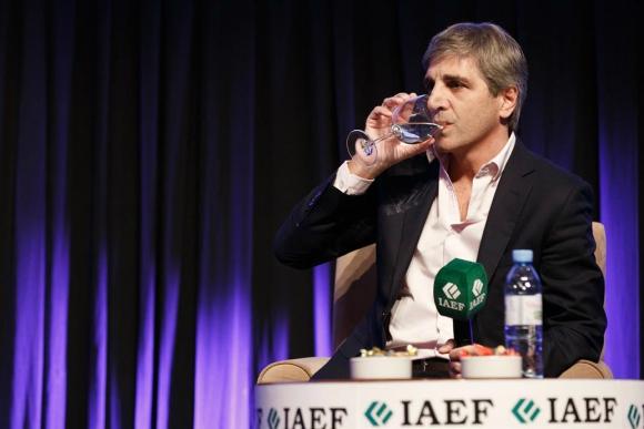 Luis Caputo dejó la presidencia del Banco Central argentino. Foto: La Nación.