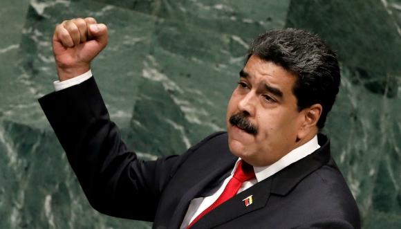 Nicolás Maduro en la Asamblea general de la ONU. Foto: Efe.