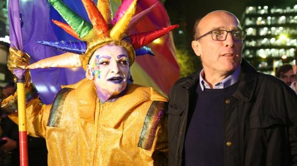 Daniel Martínez junto con Roberto Acosta. Foto: Mateo Vázquez