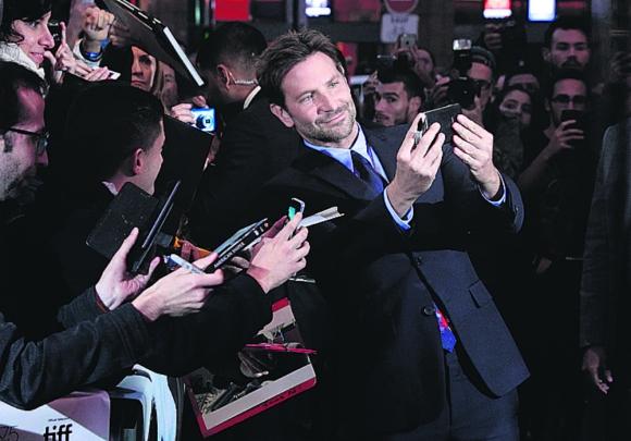 Bradley Cooper.  Photo: AFP