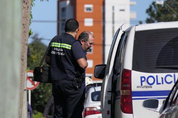 Policía en Maldonado. Foto: Ricardo Figueredo