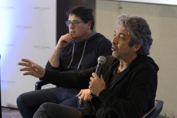 Juan Vera y Ricardo Darín