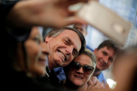 Jair Bolsonaro. Foto: Reuters