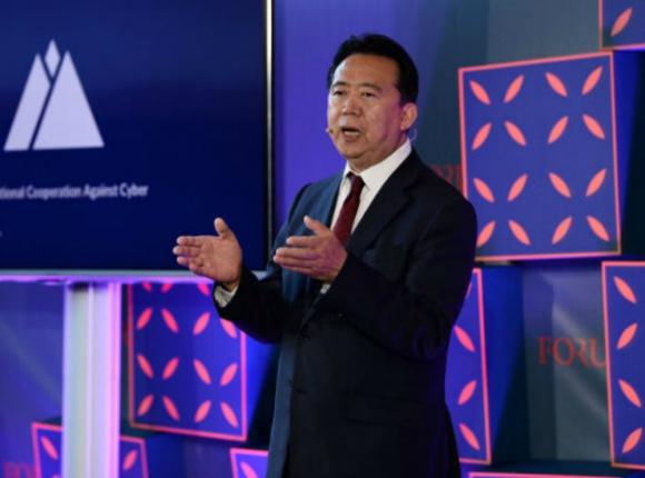 Pedido: Interpol quiere saber qué pasa con Meng Hongwei, Foto: AFP
