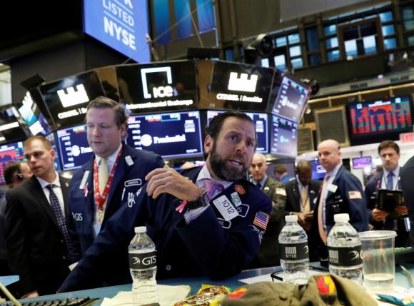Wall Street: ayer registró su segundo día de caída consecutiva. Foto: Reuters
