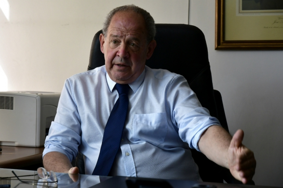 Ricardo Gil Iribarne, presidente de la Jutep. Foto: Fernando Ponzetto