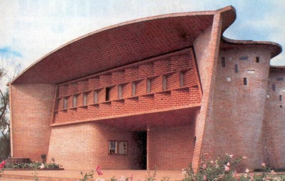 Edificio: desde 1958 es un ícono de la arquitectura uruguaya. Foto: archivo El País