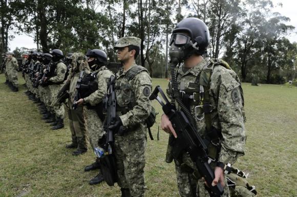 Tabaré Vázquez tuvo la última palabra en la reforma de la Caja Militar. Foto: Darwin Borrelli