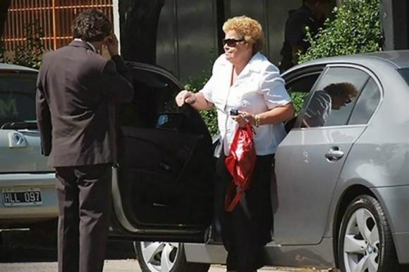 Myriam Chavez, madre de Marcelo Balcedo. Foto: La Nación.