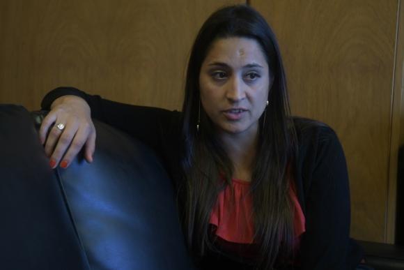 Diputada: presentó una denuncia por hurto en el Parlamento. Foto: F. Flores