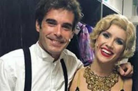 Nicolás Cabré y Laura Fernández en Sugar