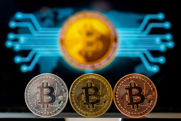 Bitcoin. Foto: AFP