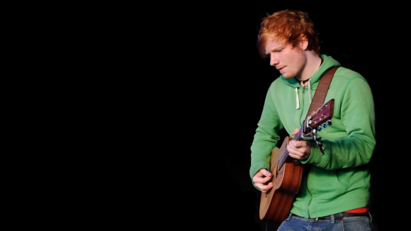 Ed Sheeran (2013). Foto: archivo El País