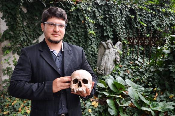 Cícero Moraes, especialista en reconstrucción de cráneos estará en Uruguay en noviembre. Foto: Martin Dlouhý