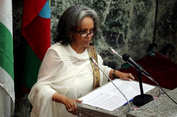 Sahlework Zewde es la primera mujer presidenta en Etiopía. Foto: Reuters