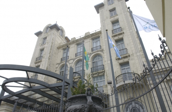 Sede del Mercosur en Montevideo. Foto: Nicolás Pereyra.
