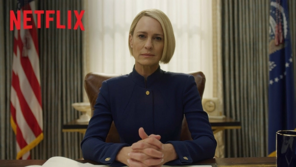 Robin Wright será la protagonista de House of Cards