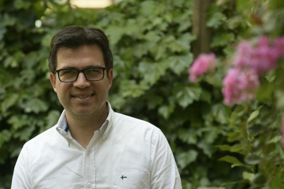 Alejandro De Barbieri, un psicólogo que ha cosechado el éxito.