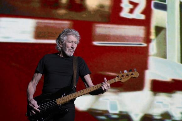 La magia de Roger Waters en el Estadio Centenario. Foto: Leonardo Mainé