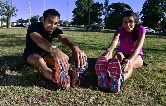 Jhonatan Tejera y Natalie Bengoa