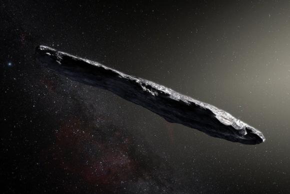 Un objeto rocoso que pasó cerca de la Tierra deslumbró a los científicos de la Nasa y la Esa en octubre de 2017. (Foto: European Southern Observatory / M. Kornmesser)