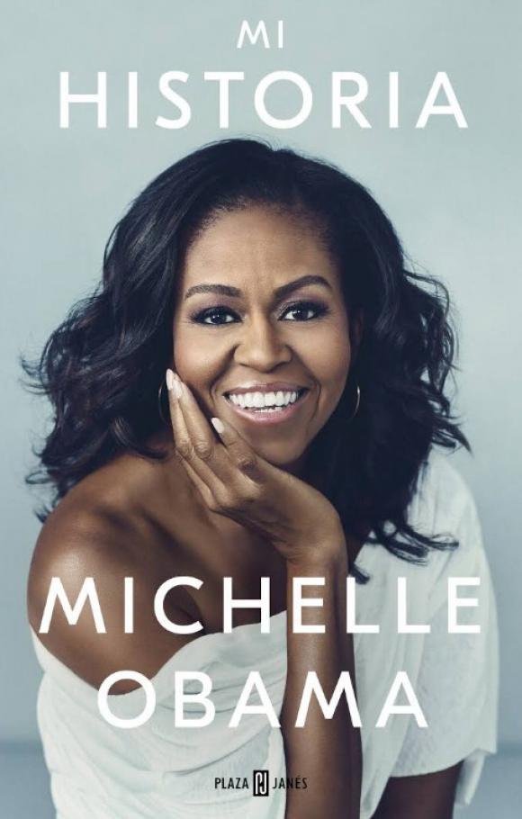 """Tapa del libro """"Mi Historia"""" de Michelle Obama. Foto: Captura"""