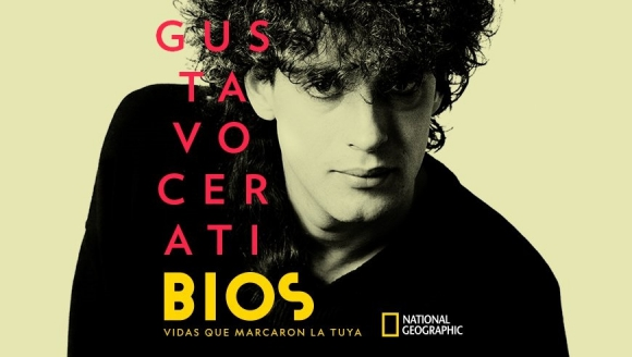 Arte Serie Bios sobre Gustavo Cerati