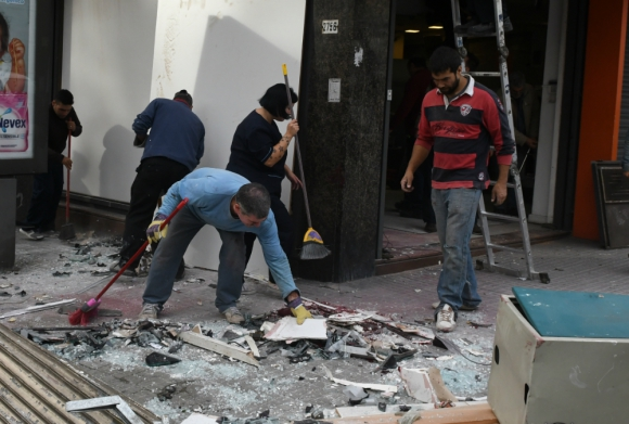Delincuentes han aplicado sistema que implica técnicas para estallido y huida. Foto: archivo El País