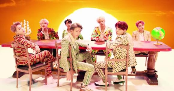 Video de la canción Idol de BTS