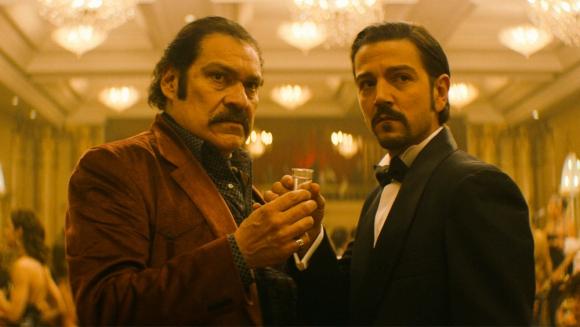 Diego Luna y Joaquin Cosio son los protagonistas de la nueva temporada de Narcos: México. Foto: Difusión