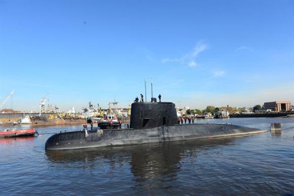 Submarino argentino ARA San Juan. Foto: Armada argentina