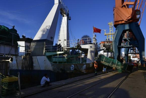 Los Lu Qing Yuan Yu visitaron este mes el puerto capitalino. Foto: F. Ponzetto