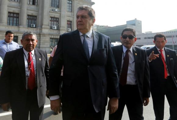 Alan García, expresidente de Perú. Foto: Reuters.