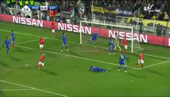 Rostov 3-2 Bayern Munich - Champions League