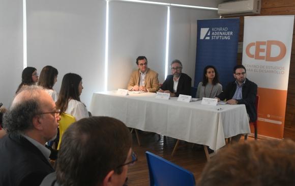 El Centro de Estudios para el Desarrollo divulgó ayer el informe de Sinergia. Foto: F. Flores