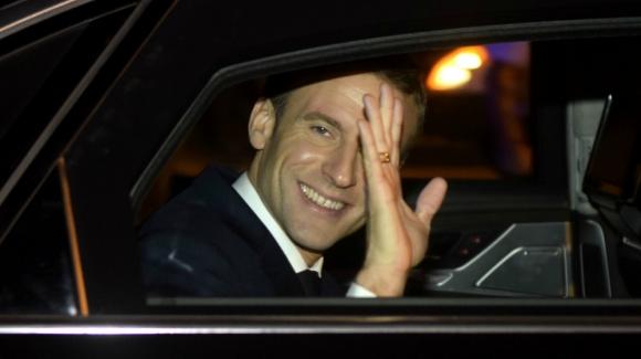 Emmanuel Macron arribó a Argentina para la cumbre del G20.- Foto: AFP.