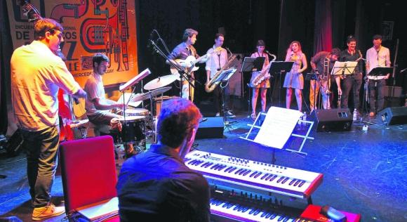 El grupo argentino Mingunos en el festival Jazz a la Calle